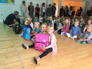 Første skoledag Ejer Bjerge Landsbyordningen Ejer Bavnehøj